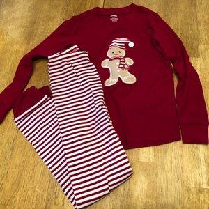 Girls Christmas pajamas size 6